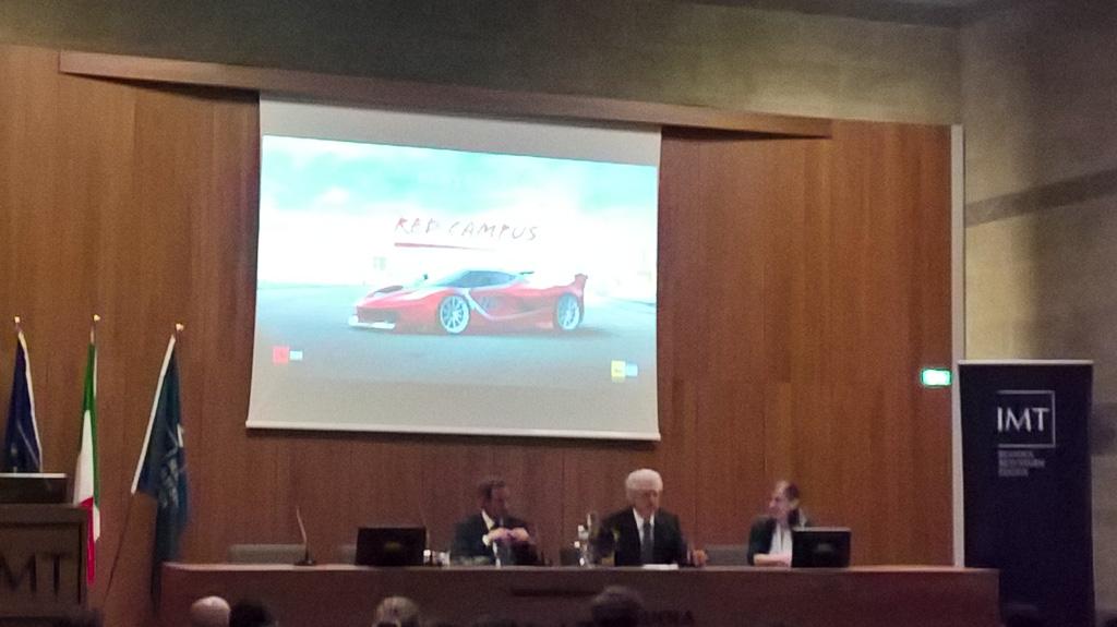 Evento Ferrari IMT