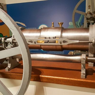 Motore a stantuffi contrapposti - 1858