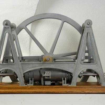 Secondo motore a stantuffi contrapposti - 1858