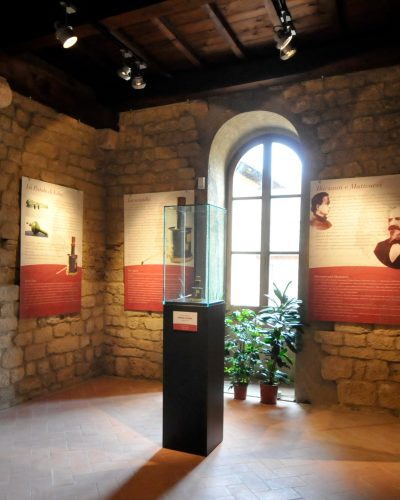 Sala Eugenio Barsanti al museo civico di Volterra